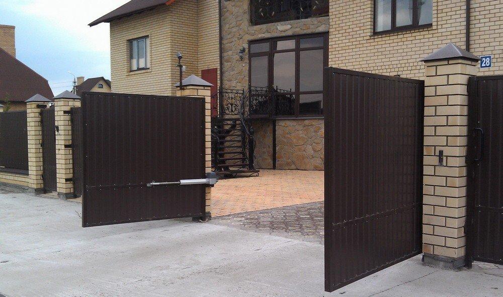 Автоматические ворота 3